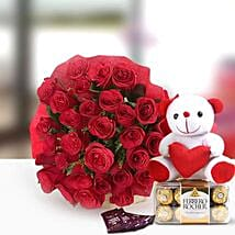 Perfect N Lovely: Send Flowers & Chocolates to Lucknow