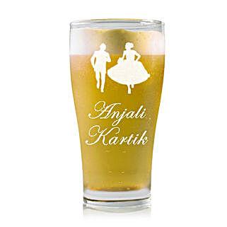 Personalised Beer Glass 2212: