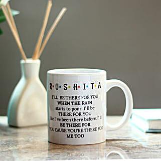 Personalised FRIENDS Themed Mug: Custom Photo Coffee Mugs