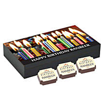 Personalised Happy Bday 6 Chocolate Box: Personalised Chocolates Lucknow