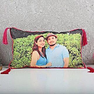 Personalised Love Cushion: Personalised Cushions - Anniversary