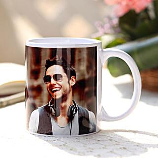Personalised Love White Ceramic Mug: Gift for Boyfriend