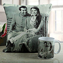 Personalised Memories Combo: Anniversary Gifts for Couples