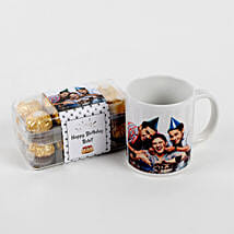 Personalised Mug & Ferrero Rocher Combo Birthday: Personalised Gifts