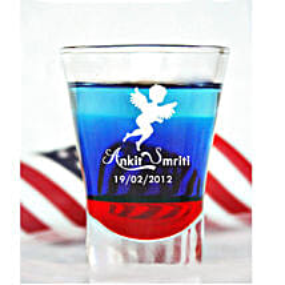 Personalised Set Of 2 Shot Glasses 1027: Personalised Shot Glasses