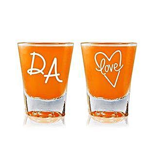 Personalised Set Of 2 Shot Glasses 2296: