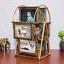 Personalised Swing Wheel Photo frame: Personalised Gifts for Men