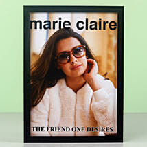 Personalised The Friend One Desires Frame: Friendship Day Photo Frames