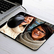Personalize Photo Mouse Pad: Personalized Diwali Gifts