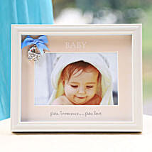 Personalized Baby Blue: Romantic Photo Frames