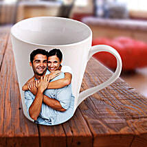 Personalized Ceramic Photo Mug: Send Personalised Mugs for Wife