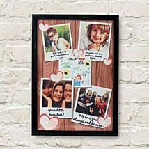Personalized Cherishing Love Frame: Send Personalised Gifts to Delhi