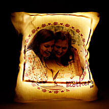 Personalized Cool Yellow LED Cushion: Personalised gifts for Mother's Day