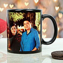 Personalized Couple Mug: Send Gifts to Bhandara