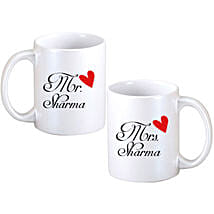 Personalized Couple Mugs: Send Gifts to Panihati
