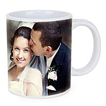 Personalized Couple Photo Mug: Send Wedding Gifts to Udupi
