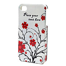 Personalized Floral iPhone Case: Personalized Diwali Gifts