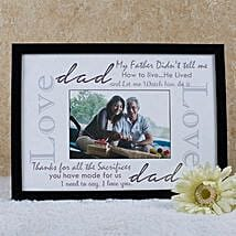 Personalized Frame For Dad: Personalised Photo Frames Gifts