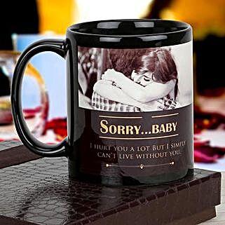 Personalized Immense Apology: Custom Photo Coffee Mugs