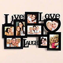 Personalized Live Love Laugh Frames: Send Personalised Gifts to Varanasi