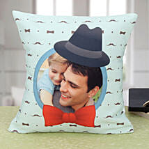 Personalized Longing Forever Cushion: Fathers Day Cushion