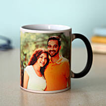 Personalized Magic Mug: Send Gold Rakhi