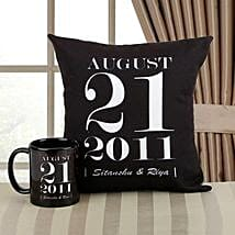 Personalized Memories Combo: Personalised Gifts Tiruvottiyur