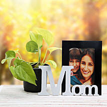 Personalized Mom Frame N Plant: Send Personalised Gifts to Tiruvottiyur