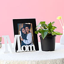 Personalized Mom Frame N Plant: Send Personalised Gifts to Roorkee