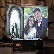 Personalized Rotating Lamp Large: Personalised Gifts Rajkot