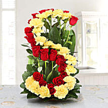 Personalized Tender Love: Send Flowers to Bathinda