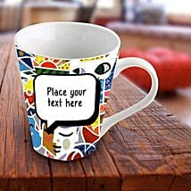 Personalized Vibrant Mug: Send Personalised Gifts for Diwali