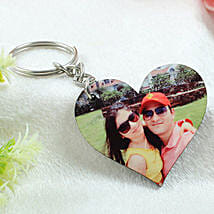 Personalized Wooden Key Chain: Valentine Custom Gifts for Husband