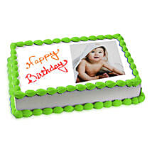 Photo Cake Pineapple: Photo Cakes to Ludhiana