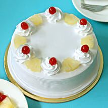 Pineapple Cake: Send New Year Gifts to Ghaziabad