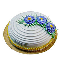 Pineapple Swirl Cake Half kg Parent: New Year Cakes Dehradun