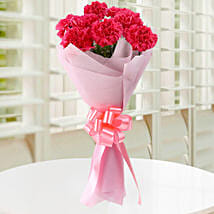 Pink Carnations N Love: Gifts Delivery In Godadara - Surat