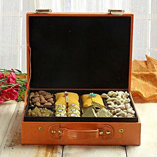 Premium Rakhi Rich Hamper: Send Rakhi to Ambala