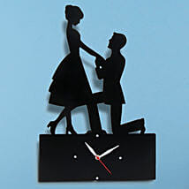 Propose Wall Clock: Gifts to Mansa