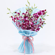 Purple Orchids: Send Flowers to Bathinda