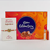 Rakhi Cadbury Celebrations Combo: Send Rakhi to Junagadh