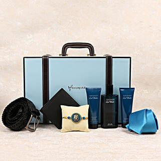 Rakhi Davidoff Hamper For Smart Bro: Premium Rakhi