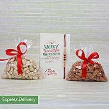 Rakhi Dry Fruits Combo: Send Rakhi to Darjeeling