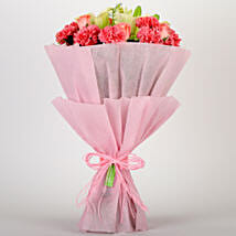 Ravishing Mixed Flowers Bouquet: Gifts to Park Street Area - Kolkata
