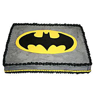Rectangle Batman Cake: Cakes to Baharampur