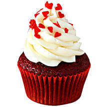 Red Velvet Cupcakes: Eggless cakes for anniversary