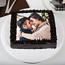 Rich Chocolate Photo Cake: Photo Cakes to Thane