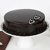 Rich Velvety Chocolate Cake: Eggless cakes for anniversary