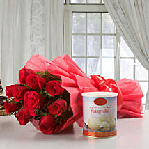 Roses Glory: New Year Flowers & Sweets