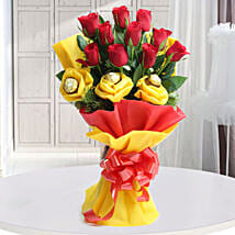 Roses N Chocolates Delight: Christmas Gifts Your Family